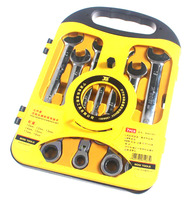 free shipping BOSI 7pc flexible head Geartech Combination Spanner Wrench set