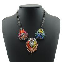 Free shipping wholesale 2014 new rhinestone necklace