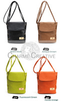 Qulity with competitive price Korea style Candy color Small shoulder bag Vintage bucket bag Tide blasting models freeshipping