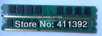 100% new ddr2 800 2gb , 4gb(2*2gb) ram for amd platform ,free shipping