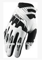 2014 New Full off-road gloves white red blue black motorcycle gloves ride motorcycle racing gloves Free Shipping