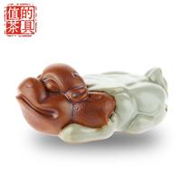 Kung fu tea teaberries decoration tea pet tea play ceramic