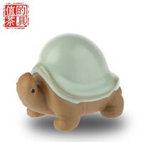 Ceramic calvings glaze longevity turtle tea pet kung fu tea pet gift kung fu tea pet