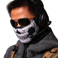6 tf141 ghost mask wigs cs tactical ride dust mask half face