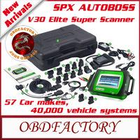 2014 Top Rated SPX AUTOBOSS V30 Elite Super Scanner 100% Original online update V30 elite(Asian, European, American,domestic)
