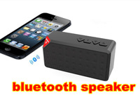 Free Shipping X3 Portable Wireless Mini Bluetooth Speaker for Bluetooth Devices Support Handfree Calling TF card 10PCS