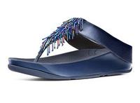 New Arrival Fashion Brand Designer Womens Beaded Platform Flat Flip Flops Slippers CHA Casual Sweet Female Beach Sandals