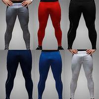 Mens Thermal Compression Under Base Layers Long Pants Tights Leggings