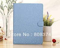 9 colors Book Folding Stand Folio Flip Leather Protective Case Cover For i Pad 5 Air
