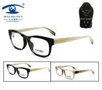 Free Shipping Wayfarer Buffalo Horn Top Grade Designer  Eyeglasses Frames