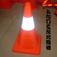 Vehicle slip road cones reflective light cone barricades warning lights, traffic safety facilities auto supplies