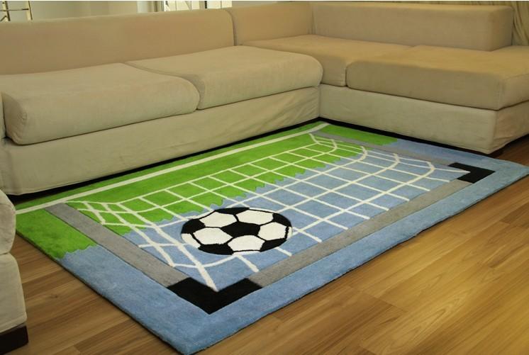 room football field net living room mat baby crawling