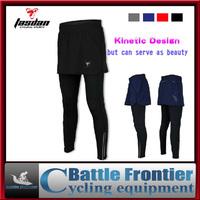 Tasdan woman silicon pad cycling bike pants/tights jersey ventilate antibacterial bicycle riding skirt pants/capri spring autumn