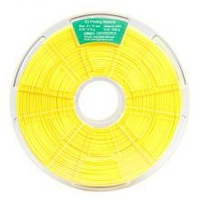 Free shipping Winbo high quality abs filament 1.75mm 1kg yellow plastic spool for makerbot,up,winbo 3d printer