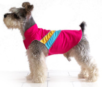 European Fashion popular dog jacket vest pet clothes button schnauzer poodle clothes free shipping from China