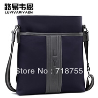Hot sale nylon man bag 2013 New style fashion casual bag Waterproof shoulder bag High quality men's Messenger Bag Free shipping