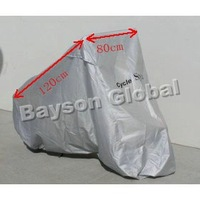 Free Shipping Medium size Scooter Motorcycle Cover 50cc 125cc 150cc Gy6 Scooters,Moped, Go-Karts, Atvs, & Buggies parts #50012