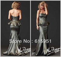 2014 Newest Sweetheart Neckline Sequined Mother Of the Bride Dress Sleeveless Mermaid Taffeta Two Piece Newest Prom Dress  FH029