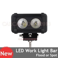 20W 2000lm CREE LED Flood Beam Work Light Offroad Lamp Car ATV SUV 4WD 4x4