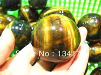 tiger eye crystal ball for decoration