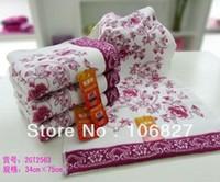 Free shipping !  Christmas promotion!  3 pcs /  lot !  3 Colors ! cotton face towel rack for sale, simple design