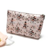 2014 Fashion Cartoon Mice Print Clutch Purse,American Elegant Women's Cosmetic Case,Waterproof Makeup Bag accessory Pouch,SJ059