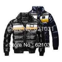 2 Styles! HOT!New Style Fashion Slim short Men's Jacket Parka Brand Designer High Quality Men 's Coat Thickning Warm Outwear