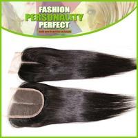 5A Peruvian Virgin Hair Lace Closure Human Hair Closure Silky Straight 8-18inch Free Part Middle Part
