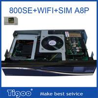 DM800hd se wifi 300mbps WLAN inside dvb 800 se sim A8P  BCM4505 tuner set top box dm 800se wifi wholesale