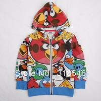 Free shipping 5pcs/lot children clothing boy  hooded jacket boy coat boy character zipper outerwear