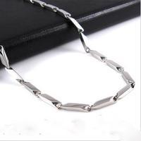 Accessories male titanium steel Men necklace fashion accessories  Free shipping