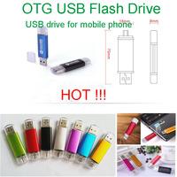 Hot sale Smart Phone cell mobile phone Tablet PC USB Flash Drive pen drive OTG external storage micro usb drive memory stick