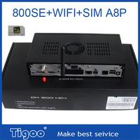 DM 800se WIFI Support 400MHz CPU Sim a8p HDMI Saterllite Receiver