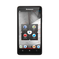 Original lenovo A766 5.0 Inch IPS 854*480 MTK6589m Quad Core 1.2GHz 512MB+4GB Android 4.2 5.0MP Camera Mobile Phones Russian GPS