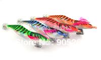 Available Free shipping!10pcs/lot SHRIMP fishing lures spoon fishing hook Squid Jigs fugangmutou 4#
