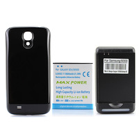 5600mAh Extended Battery + Back Cover + YIBOYUAN Wall Charger For Samsung Galaxy S4 SIV i9500 Black