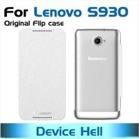 high quality original flip case for lenovo s930 case original lenovo s930 cover with screen protector free shipping