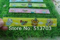 15cm Cartoon Bear Cat Plastic Straight Ruler Children Student Gift 140pcs/lot