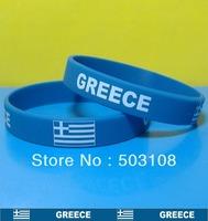 Silk Printing Silicone Wristband Bracelet of Greece