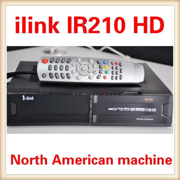 Hot! I-link IR210 HDMI receptores Lan port + PVR + decode Nagar3 + Private Server+ USB+HDMI Free shipping DHL Fedex IE 3 ~7 days(China (Mainland))