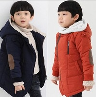 HQ-12, Children coat, winter berber fleece hood long sleeve out wear.