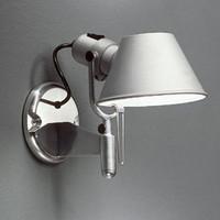 Modern aluminum bedroom wall lamp strawhat little girl wall lamp bed-lighting led aisle lights