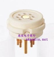 Nkaudiocmc ceramic socket porcelain steel tube socket