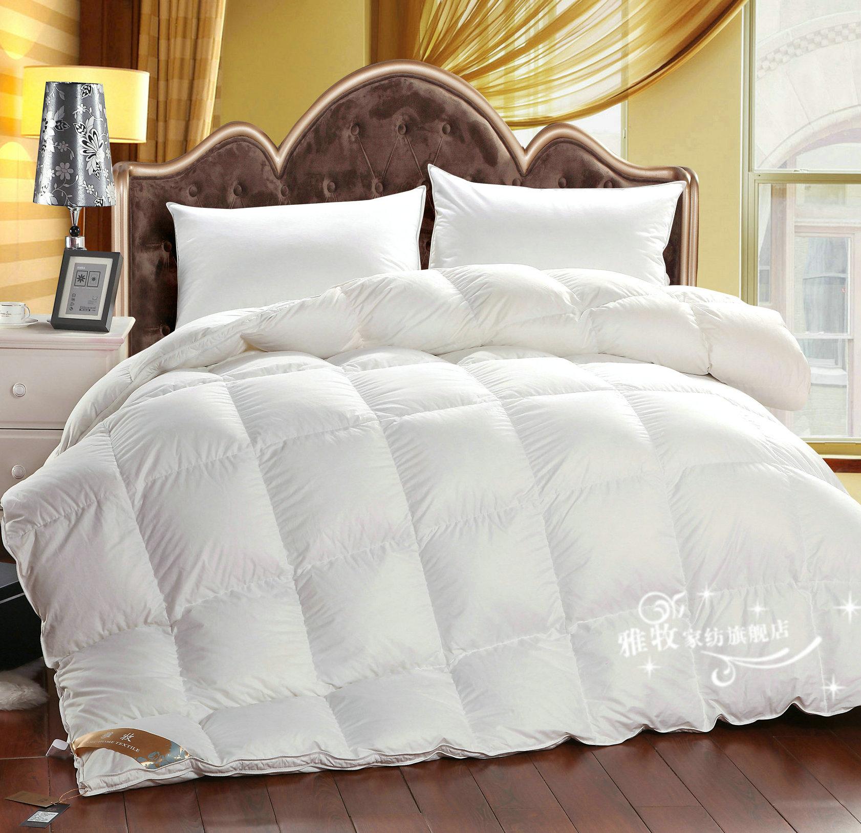 achetez en gros couette en plume d 39 oie en ligne des grossistes couette en plume d 39 oie chinois. Black Bedroom Furniture Sets. Home Design Ideas