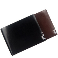 Free shipping! High quality New Men's Fashion vintage genuine leather short  men purse male/men wallets C3151