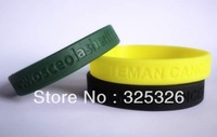 Adversting gifts 100% eco-friendly silicone deboss logo Bracelets manufacture cheap custom debossed business gift bands