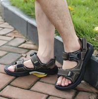 Vietnam shoes 2013 male sandals slip-resistant men's sandals leather sandals summer casual sandals