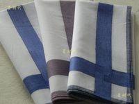 free shipping 100% cotton small jacquard male women's fogle handkerchief 100% cotton light color