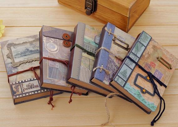 Nouveau millésime doux memory craft v3200/main couvrir livre/bricolage. journal calepins/agenda/gros