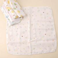 free shipping Nishimatsuya double layer gauze handkerchief female